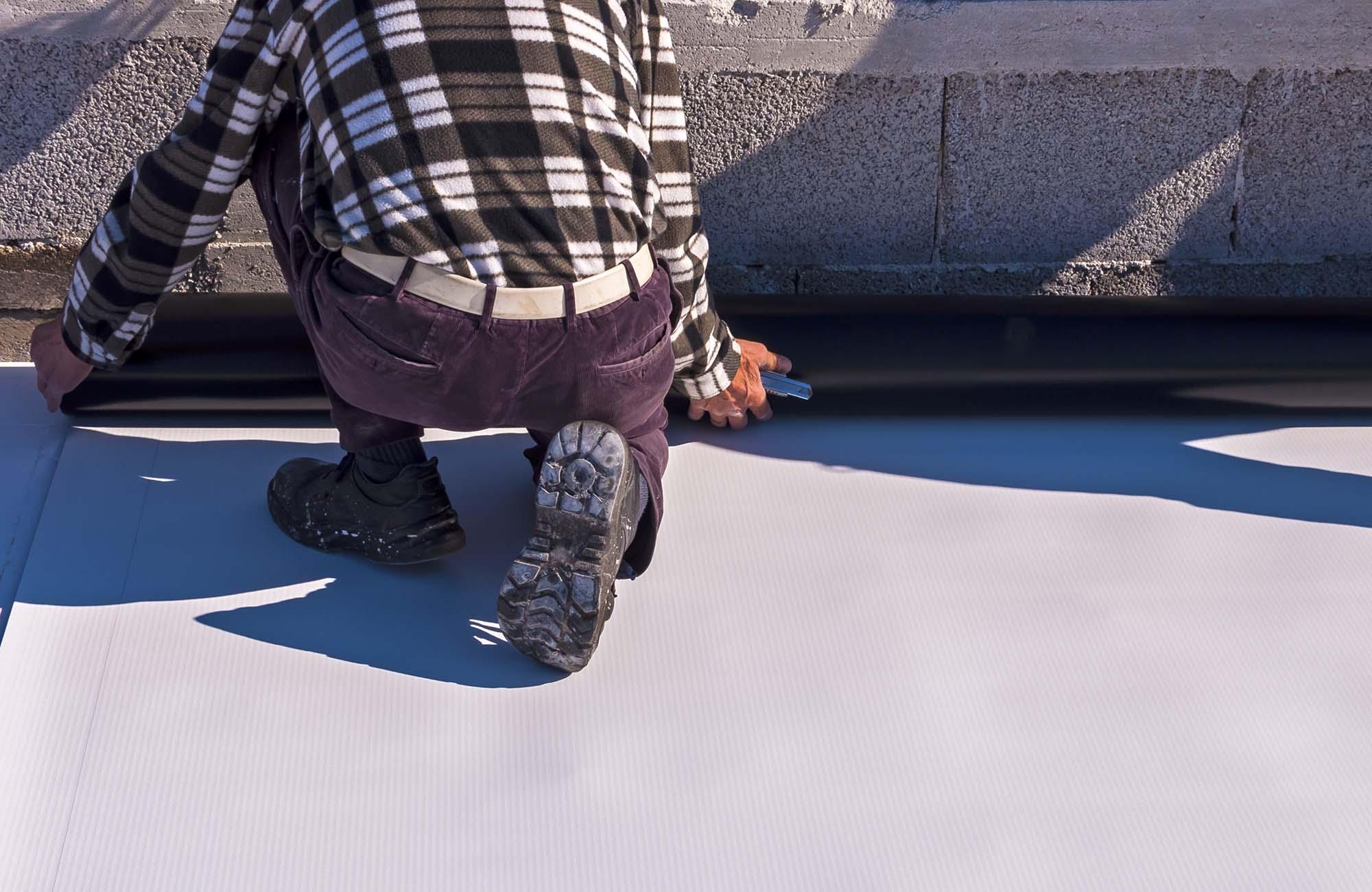 TPO roofing - Richmond Exteriors