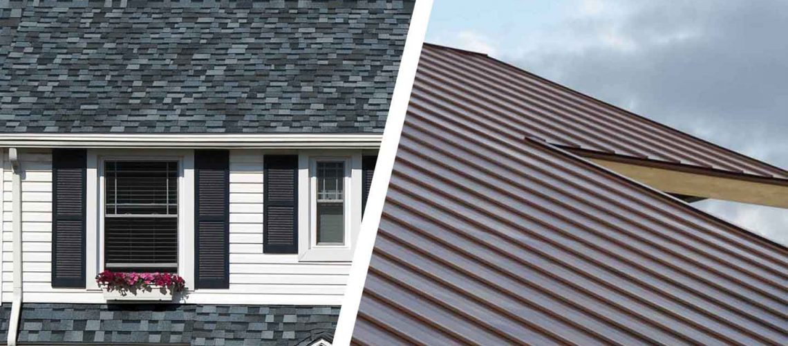 4 types of roofing material for Indianapolis