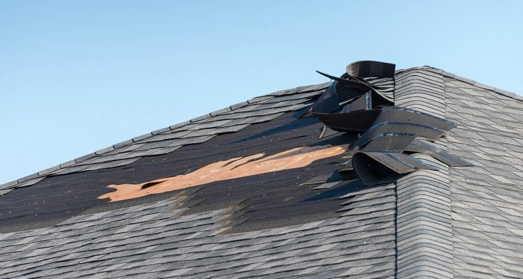 Hail Damage on Roof in Indianapolis - Indianapolis Roofer - Richmond Exteriors (1)