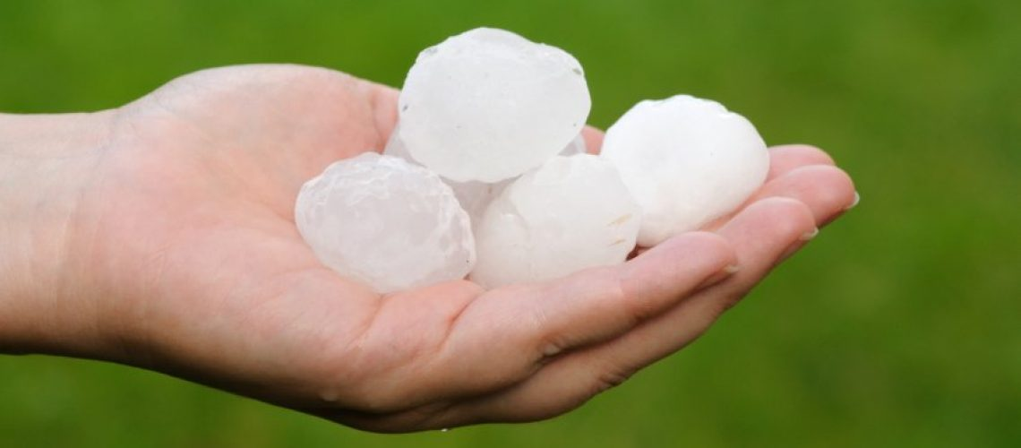 Hail Damage on Roof in Indianapolis - Indianapolis Roofer - Richmond Exteriors